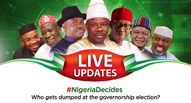 20 Governors-Elect Announced By INEC So Far (See Full-List)