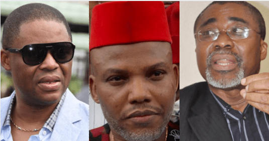 Nnamdi Kanu's sureties never applied to withdraw their suretyship – Lawyer