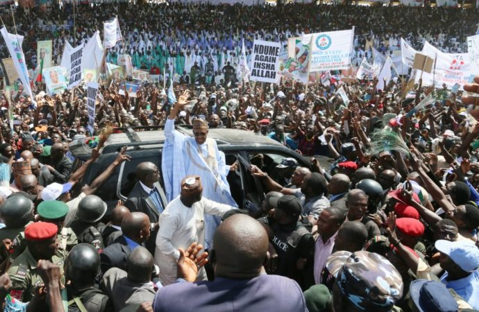 APC vs PDP: BMO speaks on Buhari 'influencing' governorship election results