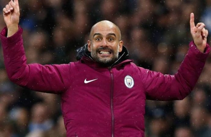 Pep Guardiola Reacts To Man City vs Tottenham In The Champions League