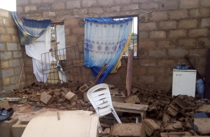Rainstorm destroys over 50 houses in Ibadan, victims cry out