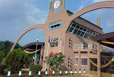 UNIBEN students protest lecturers' strike over non payment of allowances
