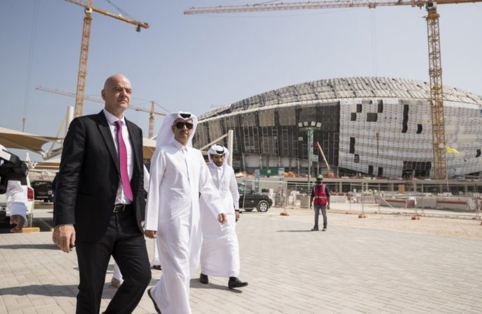 FIFA President Full of Praise as Second Proposed 2022 World Cup Venue Opens