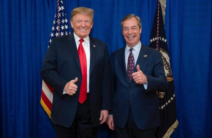 Farage banned from meeting Trump during state visit claims Brexit Party leader