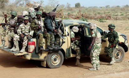 Troops kill 5 bandits, recover arms after overrunning 5 camps