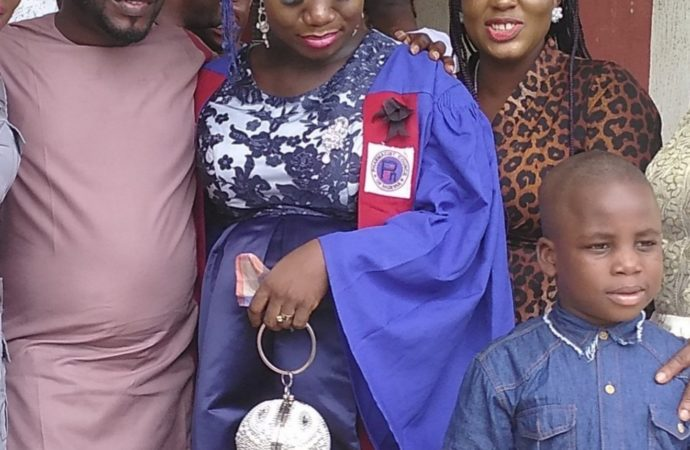 INCREDIBLE! Pregnant UNIBEN graduand, others inducted into PCN