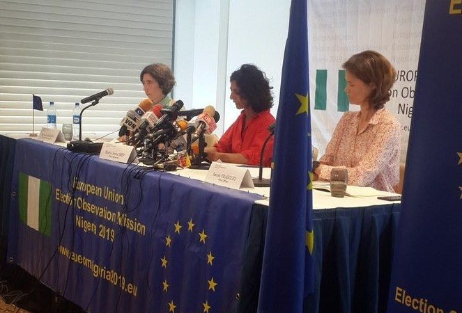 EU Mission dashes Atiku's hope, says we're not aware of INEC server