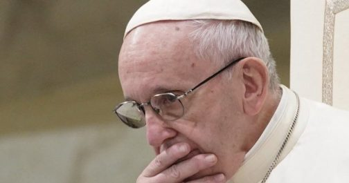 Archbishop who asked Pope Francis to resign speaks from hiding