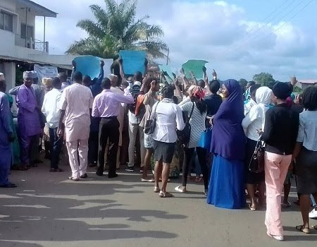 Ondo residents protest indiscriminate location of gas stations