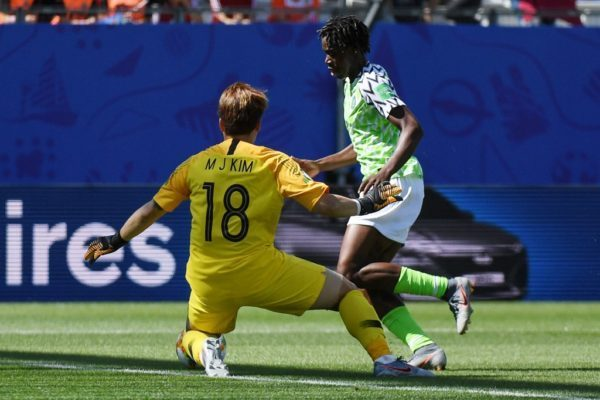 Super Falcons beat South Korea 2-0 to get campaign back on track