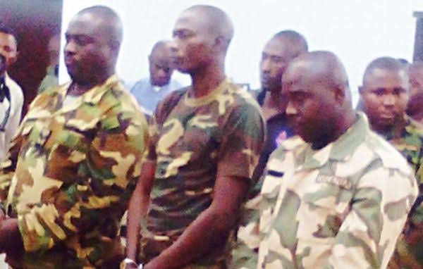 Army arraign 14 officers, soldiers accused of murder, kidnapping