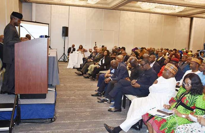 Vice president Osinbajo faults UK security report about Nigeria