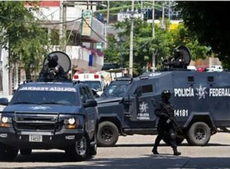 Gunmen kill five detainees in Mexican Police station