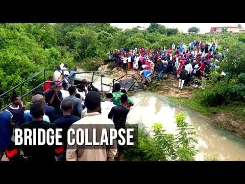 Varsity students missing as bridge collapses