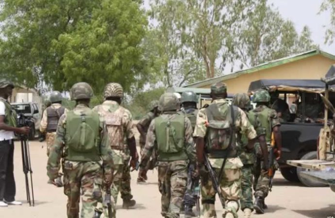 Army dismisses three soldiers for kidnapping in Borno