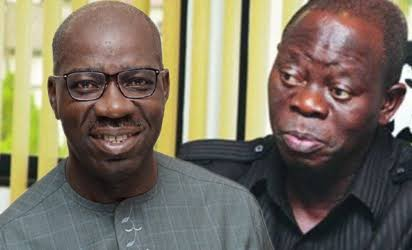 Oshiomhole rejects Christmas gifts from Obaseki
