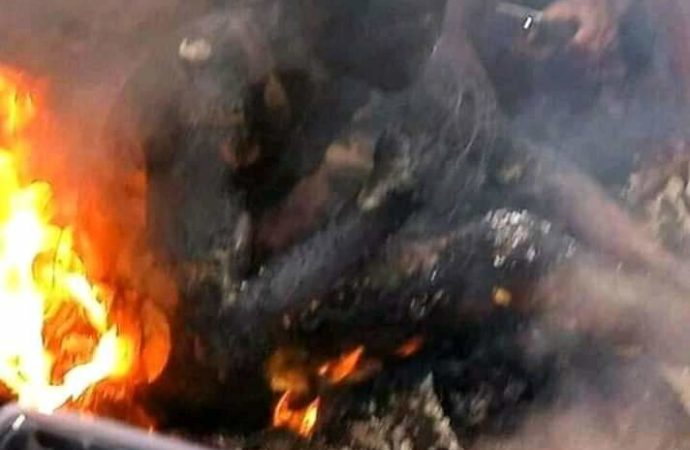 mother, child bunt to death in Onitsha tanker fire (PHOTOS)