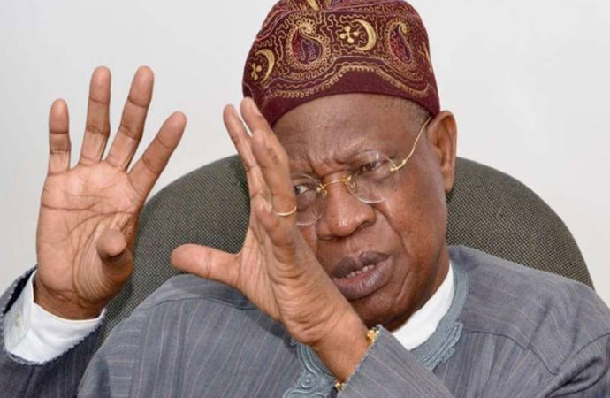 No amount of attacks will stop review of broadcasting code — Lai Mohammed