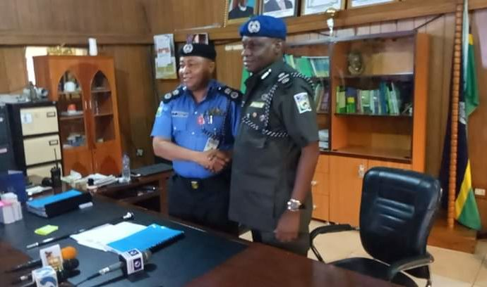 Resumption: CP Jimeta studies briefs from Officers in Edo