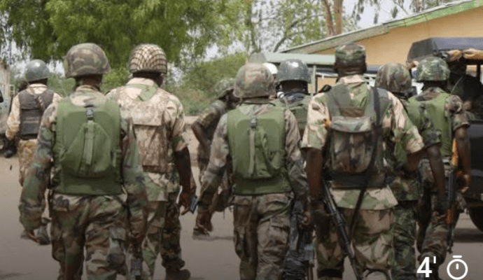 3 soldiers arrested for kidnapping, robbery in Edo