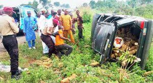 Mother, baby among 9 casualties in Bauchi road crash