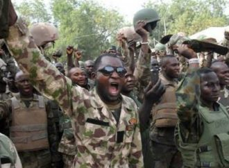 Cigarette allowance, others excite Nigerian troops at battlefield