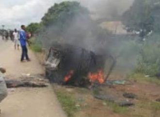 2 robbers burnt to death in Akwa Ibom