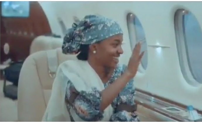 Buhari's daughter sued for using presidential jet