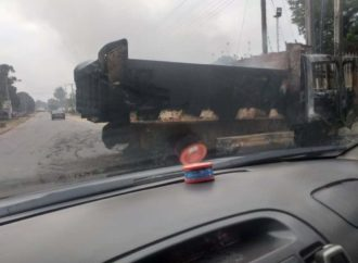 UPDATE: 'Unknown persons' burnt trucks near Oshiomhole's residence — CP