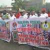 EFCC initiates Nigerians into anti-corruption walk in Edo