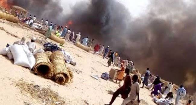 1 dies, three injured as fire consume Fulani settlement in Kogi