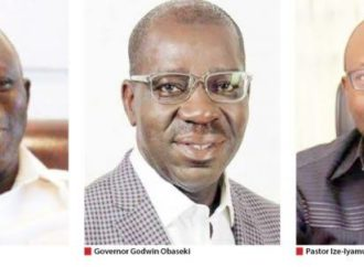 Oshiomhole loyalists can't declare war against my govt — Obaseki