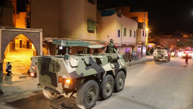 Army patrols as Moroccans defy virus measures for prayers