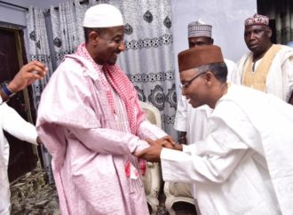 El-Rufai meets Sanusi in Awe