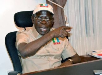 Suspension: Oshiomhole fights back, files appeals