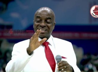 (PHOTOS)Winners demand Oyedepo sack over alleged 'attack on worshippers'