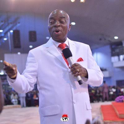(PHOTOS) Bishop Oyedepo brother batters worshipers in Edo
