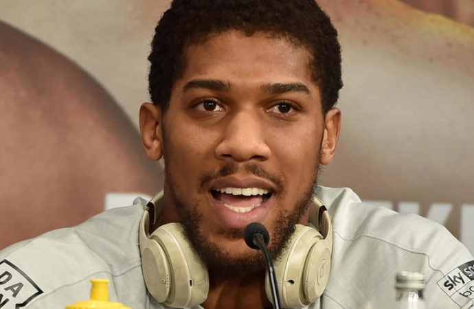 Anthony Joshua in self-isolation after meeting Prince Charles