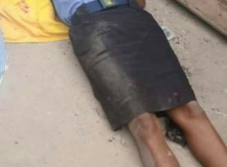 Policewoman shot dead for preventing Taskforce from destroying traders' wares in Rivers