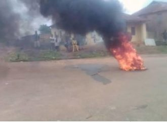BREAKING: Community leader shot dead, corpse set ablaze
