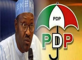 PDP blames Covid-19 spread on Buhari's delay in shutting down borders, airports