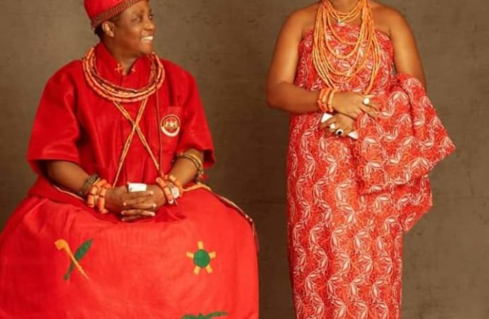 Benin monarch welcome first Prince 2 years after Coronation
