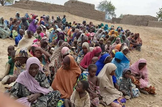 [PHOTOS] '20 terrorists' killed as military rescue 241 abductees in Borno