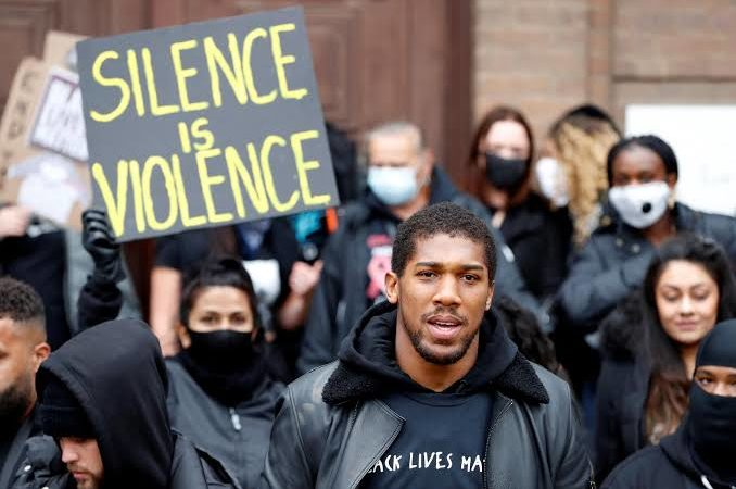 Anthony Joshua decries racial abuse