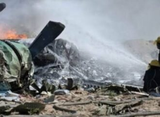 7 security personnel die in plane crash