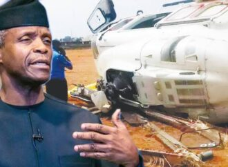 AIB report blames Captain for Osinbajo's helicopter crash in Kabba