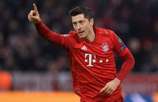 Lewandowski ends Champions League as top scorer