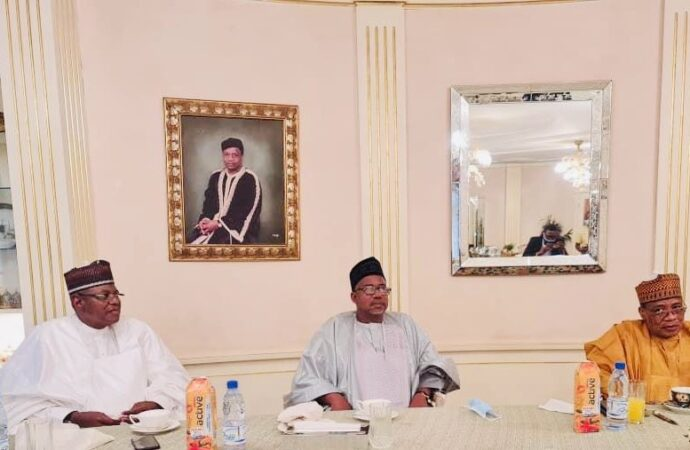 IBB, Sule Lamido in closed-door meeting in Minna