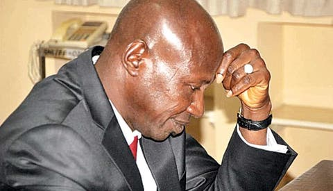 Salami sends Magu's lawyers out of panel sitting