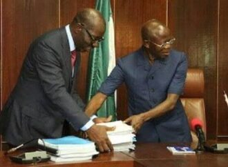 Obaseki will claim victory over Ize-Iyamu — Urhoghide accuses Oshiomhole of bringing disgrace to APC
